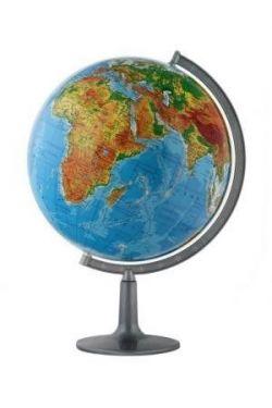 globus 420mm fizyczny globusy du e 42 50 cm niepod wietlane podstawa plastikowa. Black Bedroom Furniture Sets. Home Design Ideas