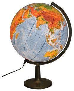 globus 420mm polityczno fizyczny pod wietlany globusy du e 42 50 cm pod wietlane. Black Bedroom Furniture Sets. Home Design Ideas