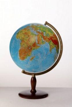 globus dekoracyjny 420mm fizyczny globusy du e 42 50 cm niepod wietlane podstawa. Black Bedroom Furniture Sets. Home Design Ideas