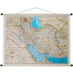 Iran Mapa Scienna Administracyjna Classic 77 X 59 Cm Mapy