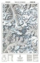 Mount Everest. Mapa ścienna - 59.5 x 93 cm