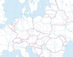 Mapa Scienna Konturowa Europy 150 X 110 Cm Plansze Szkolne